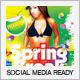 Spring Break and Summer Party Flyer - GraphicRiver Item for Sale