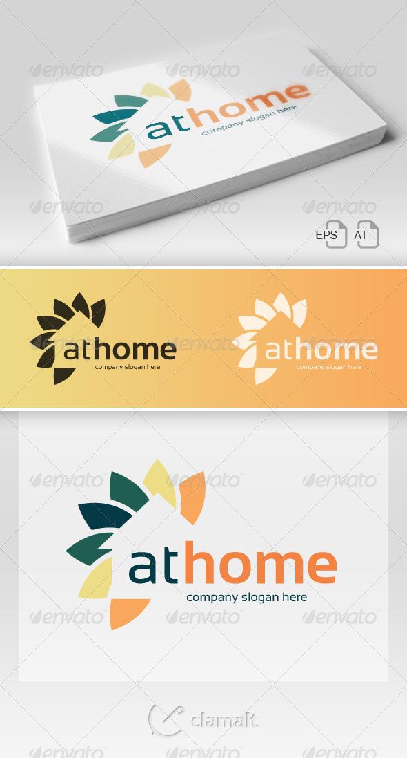 At Home Logo - Logo Templates