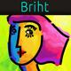 Briht - Painted Portrait Avatars - GraphicRiver Item for Sale