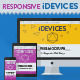 Flat & Line iDevices Responsive Screen Mockups - GraphicRiver Item for Sale