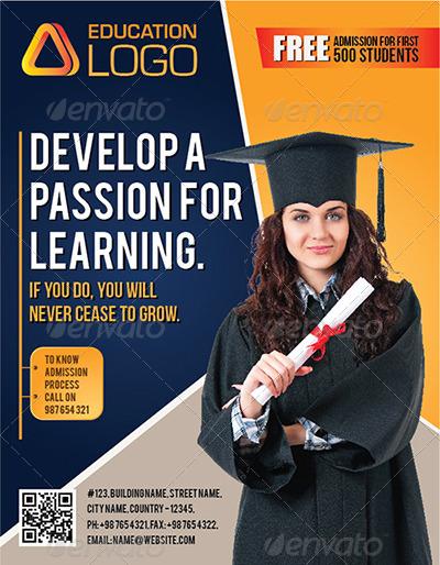 Creative Education Flyer V2 by GraphiteMedia | GraphicRiver