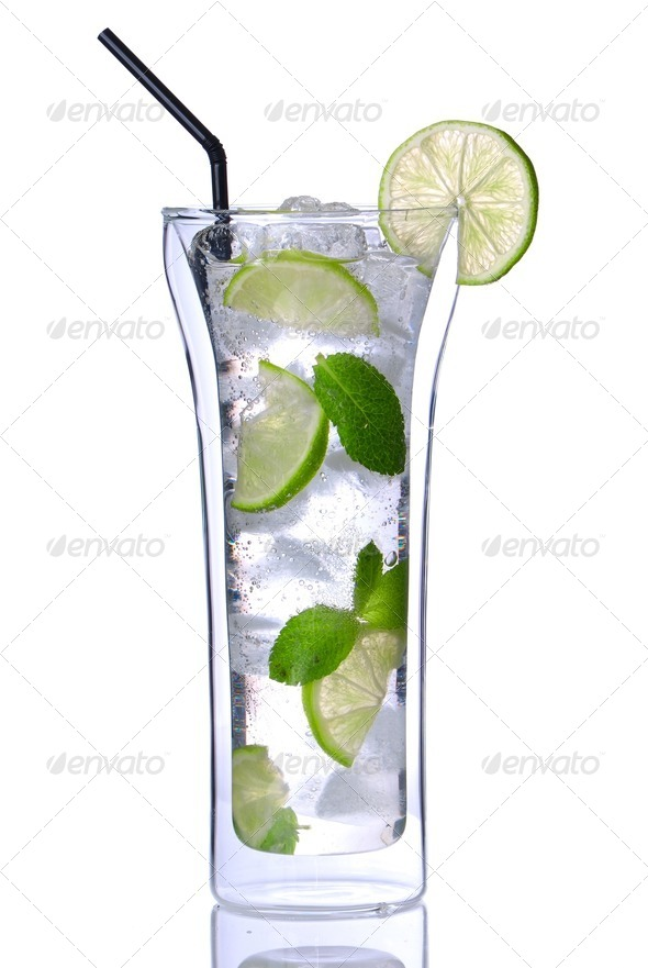 Mojito cocktail - Stock Photo - Images