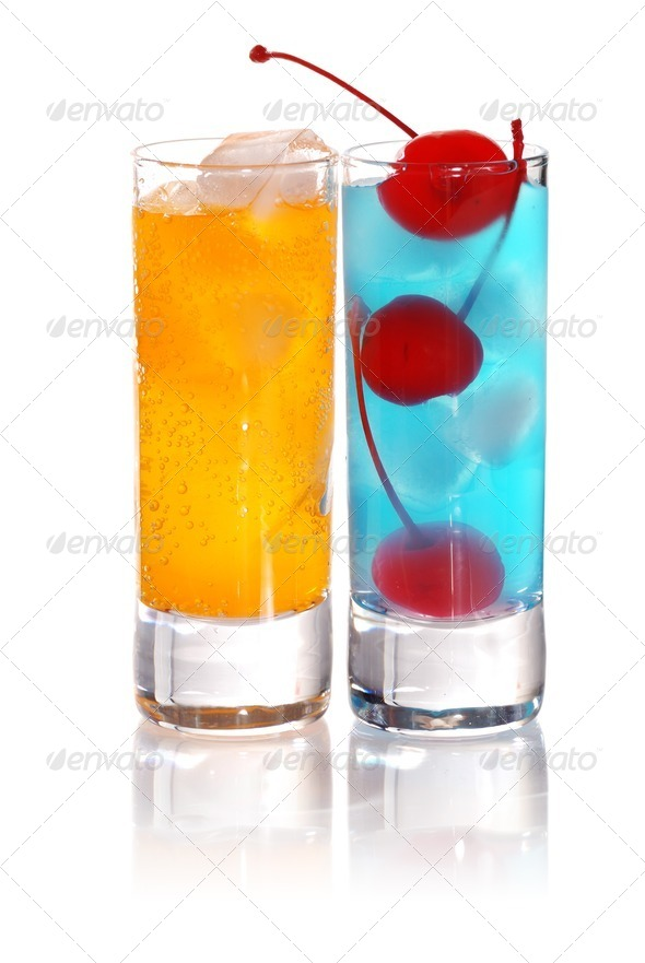 Shot drinks - Stock Photo - Images