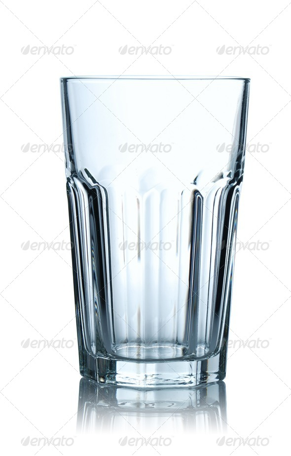Empty glass - Stock Photo - Images
