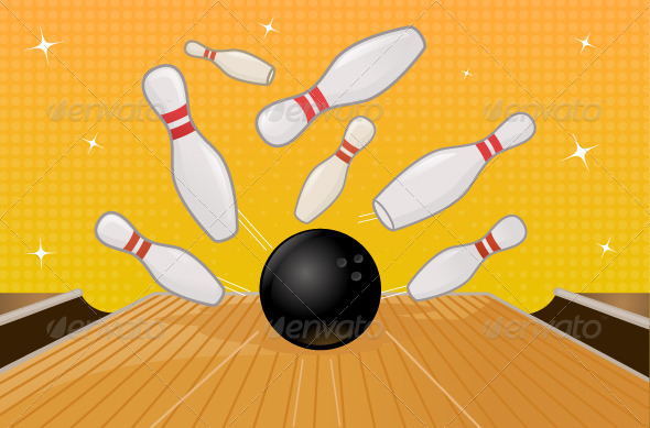 Bowling - Objects Vectors