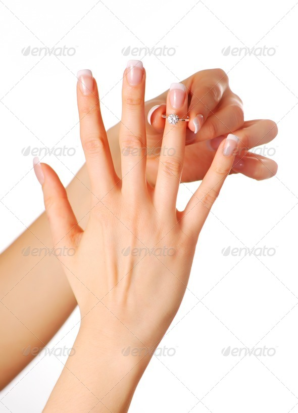 Diamond ring - Stock Photo - Images
