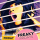 Freaky Fridays Party Flyer  - GraphicRiver Item for Sale