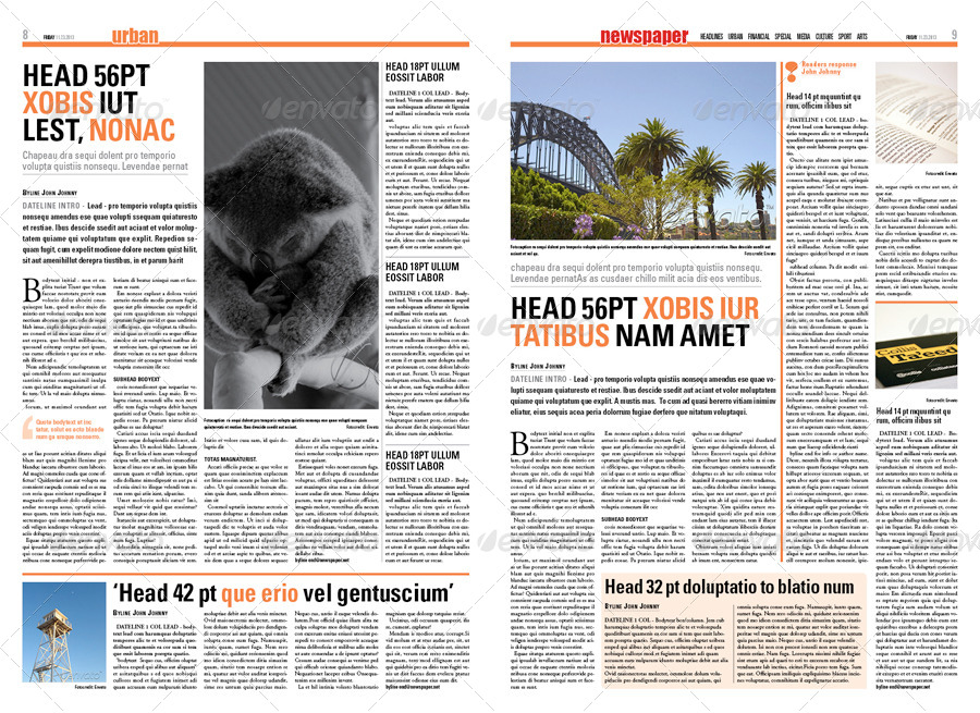 pages newspaper template koni polycode co