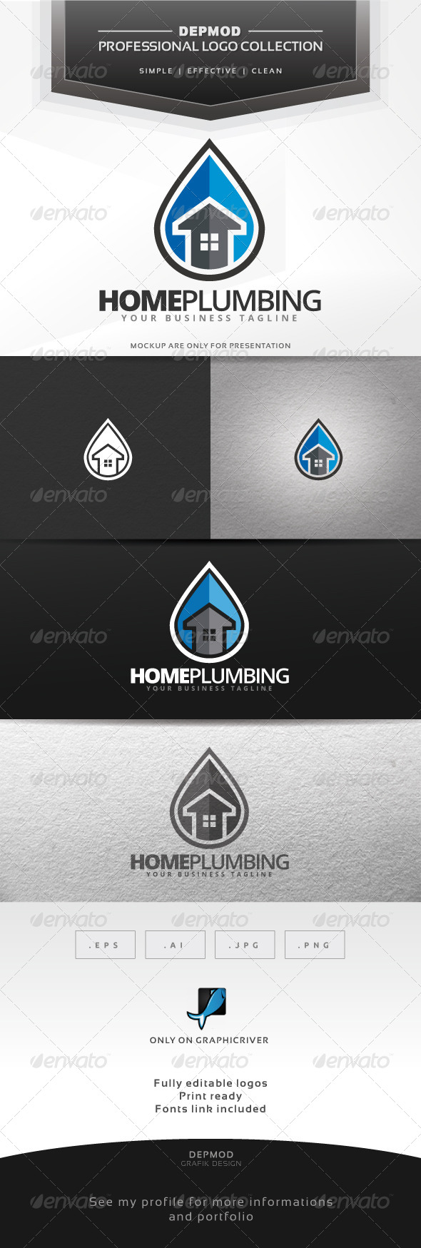 Home Plumbing Logo