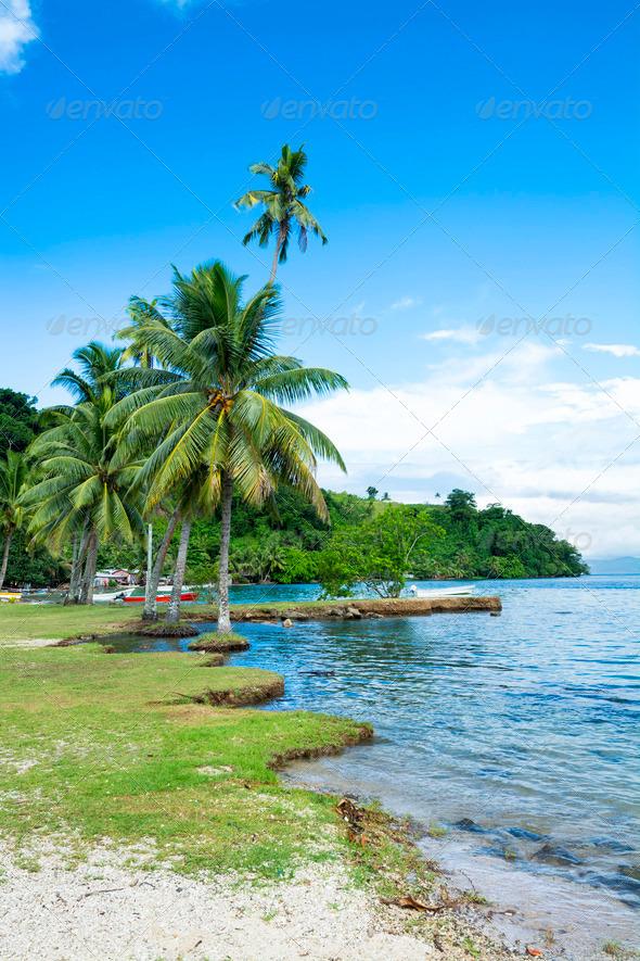 Kioa Island Fiji - Stock Photo - Images