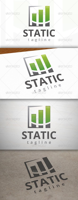 Stats Logo - Vector Abstract