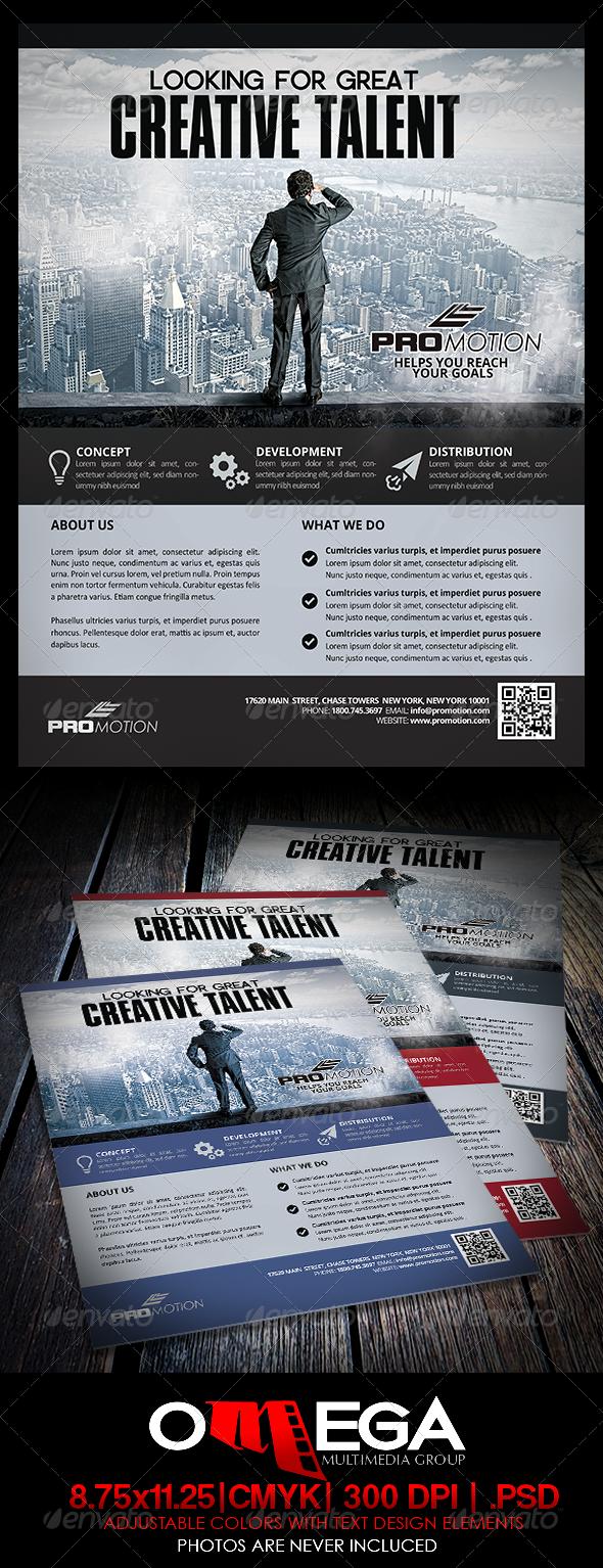 Creative Talent - Corporate Flyers