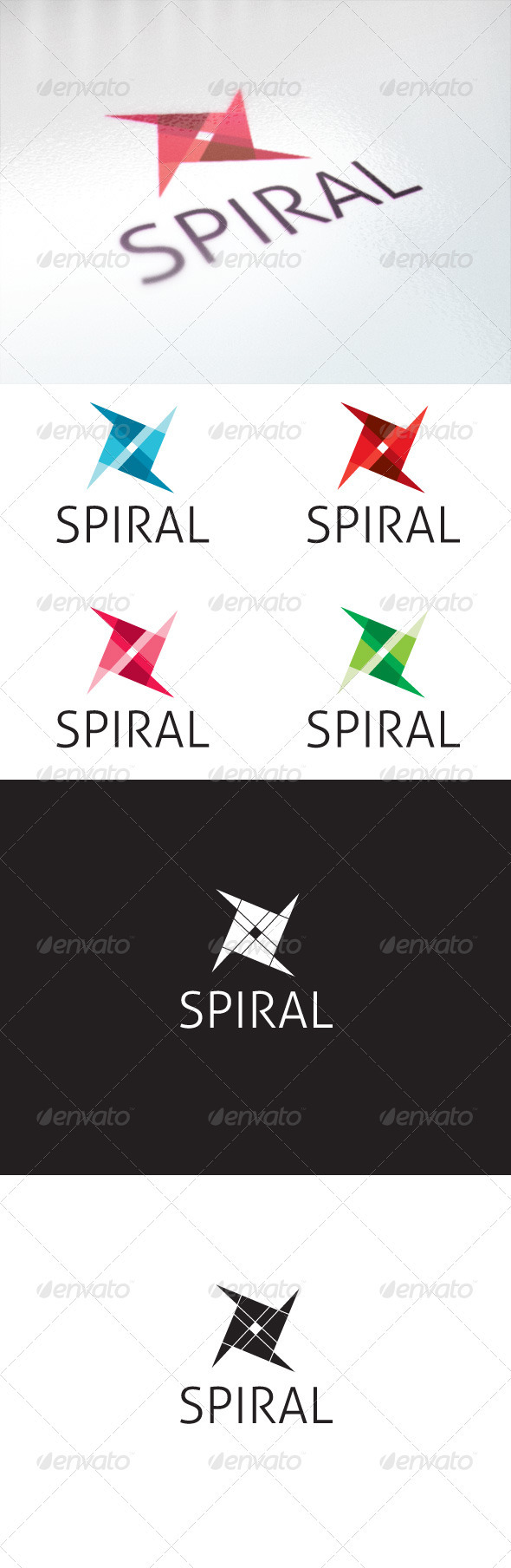 Spiral - Symbols Logo Templates