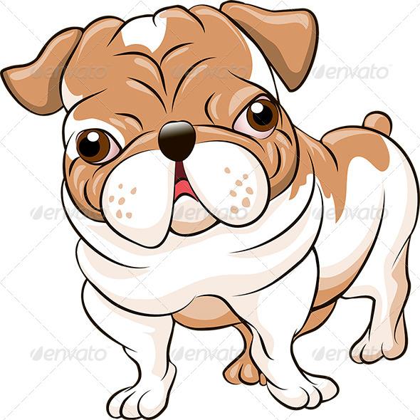 English Bulldog - Animals Characters