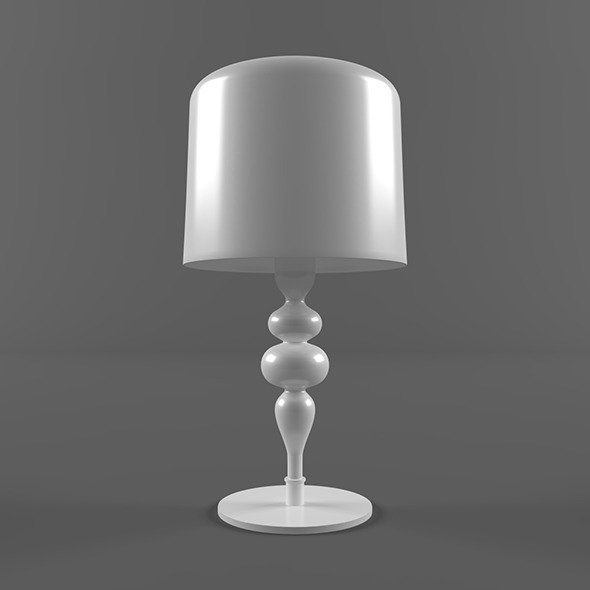 Masiero EVA lamp - 3DOcean Item for Sale