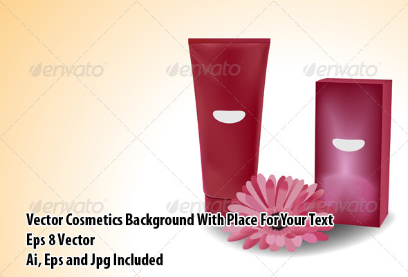 Cosmetics - Objects Vectors