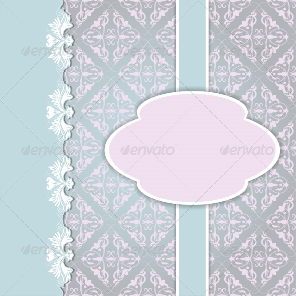 Floral Card Background - Backgrounds Decorative