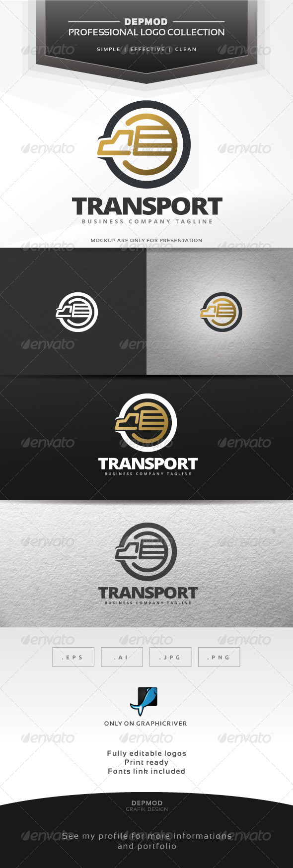 Transport Logo - Symbols Logo Templates