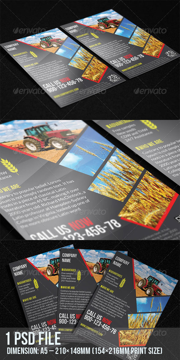 Agriculture Flyer - Corporate Flyers
