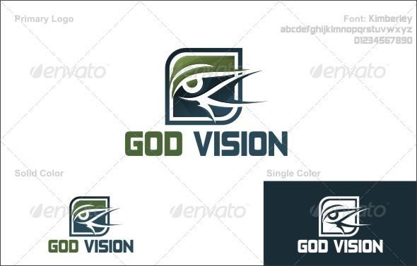 God Vision - Abstract Logo Templates
