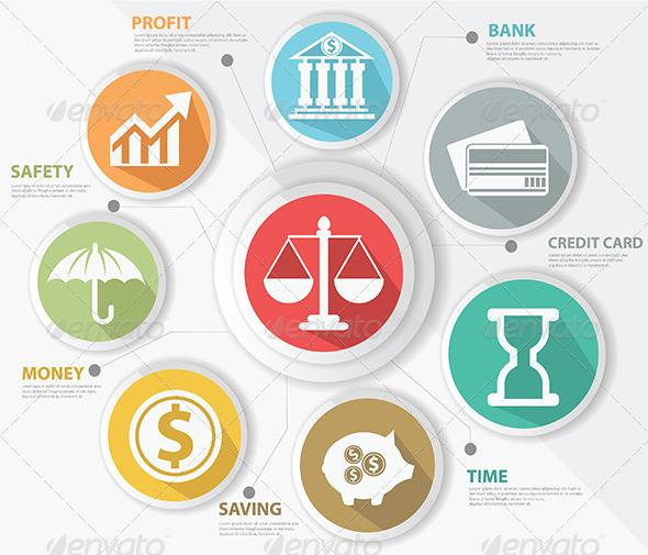 Finance Concept Infographics - Infographics