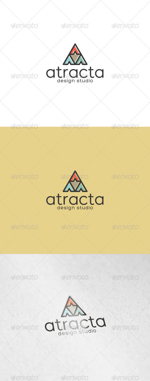 Atracta Logo - Abstract Logo Templates