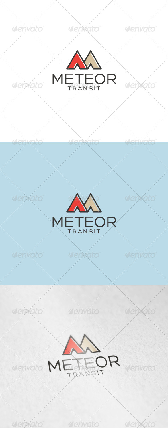 Meteor Logo - Letters Logo Templates
