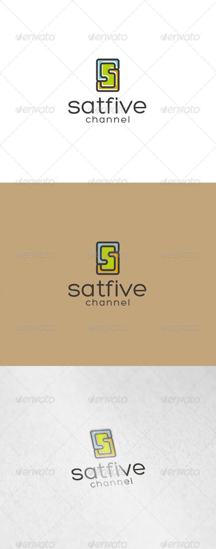 Satfive Logo - Numbers Logo Templates