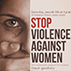 Stop Violence Against Women - GraphicRiver Item for Sale