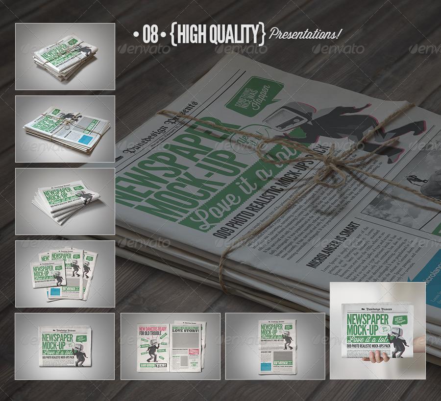 Newspaper / Newsletter Mock-Up - 2