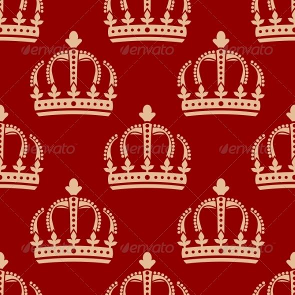 Crown Pattern - Patterns Decorative