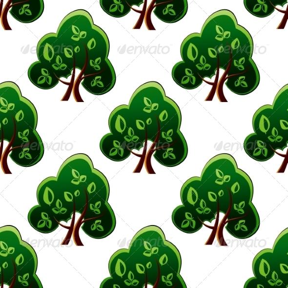 Tree Pattern - Patterns Decorative