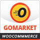 WooCommerce Supermarket Theme - GoMarket Nulled