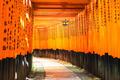 Fushimi Inari Taisha shinto shrine. Fushimi ku, Kyoto, Japan.