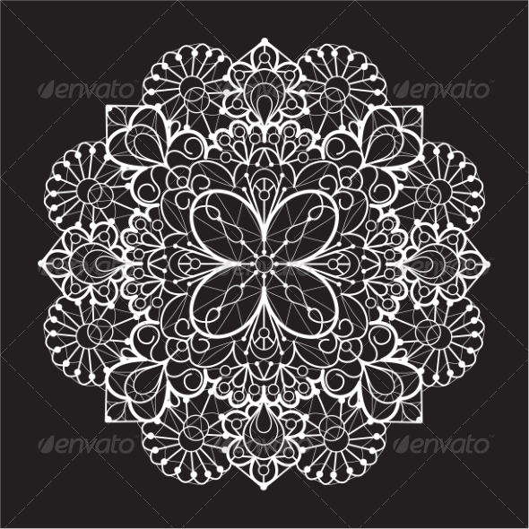 Lace Background - Patterns Decorative