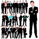 25 Business People Silhouettes Set - GraphicRiver Item for Sale
