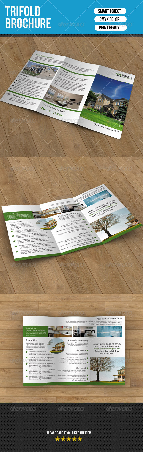 Trifold Brochure- Real Estate - Corporate Brochures