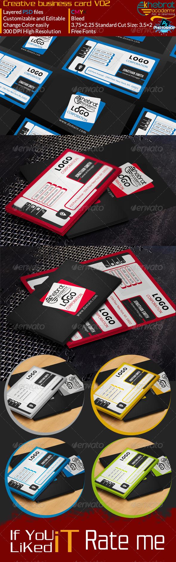 Creative Business Card V02 - Creative Business Cards
