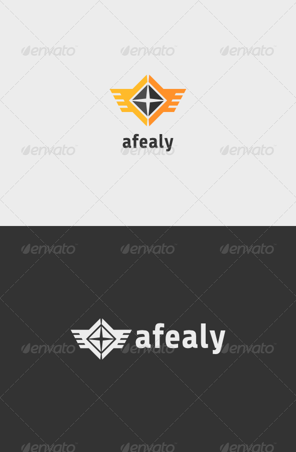 Aviation Afealy Logo - Vector Abstract