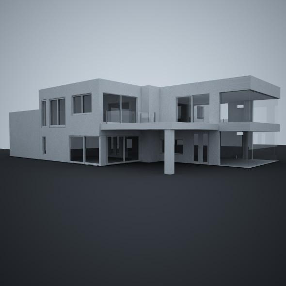 Architectural Exterior - 3DOcean Item for Sale
