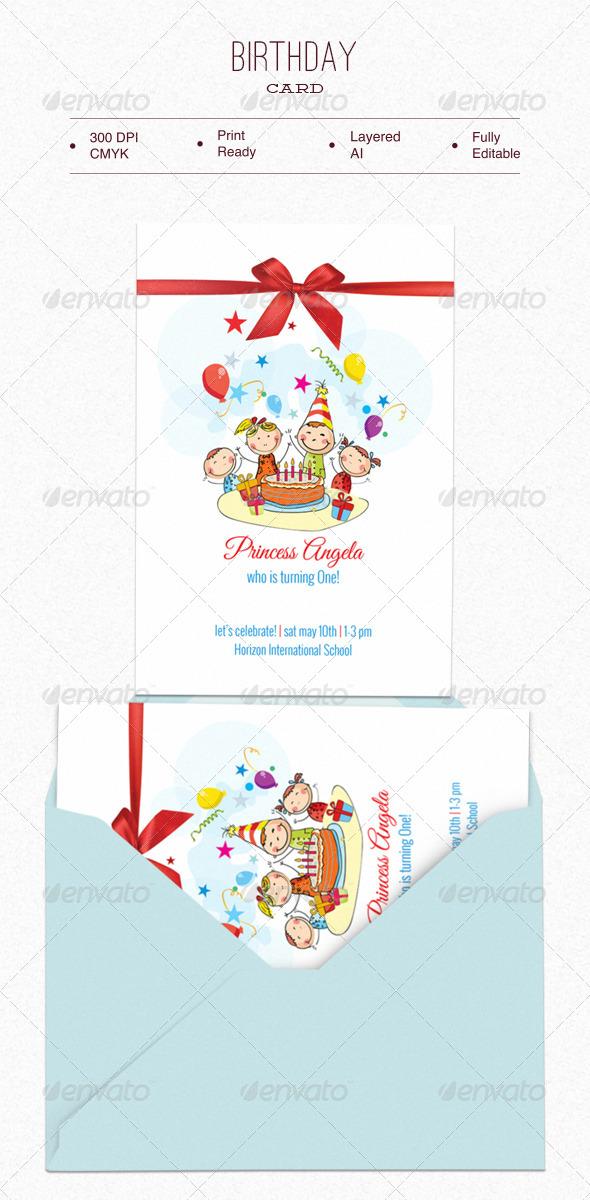 Birthday Card - Birthday Greeting Cards