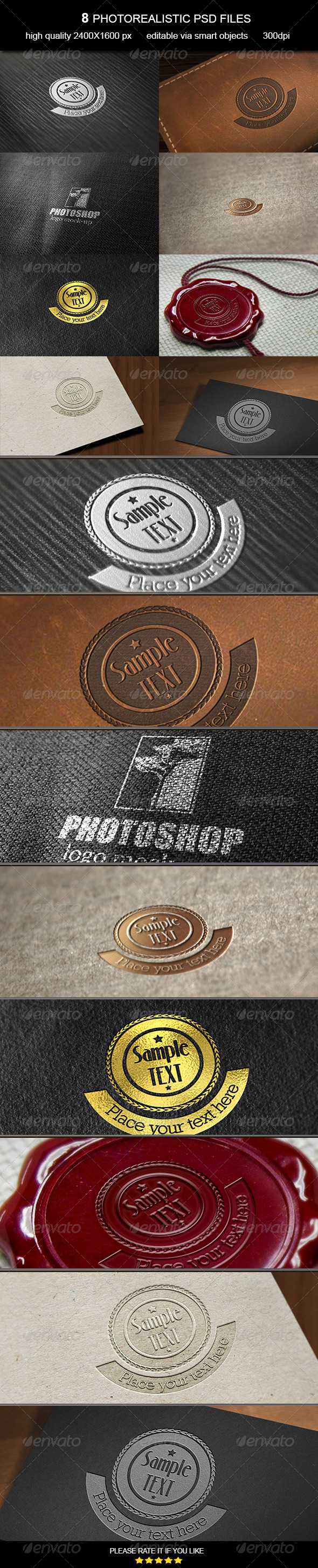 Logo Mock-Up Vol. 7 - Logo Product Mock-Ups