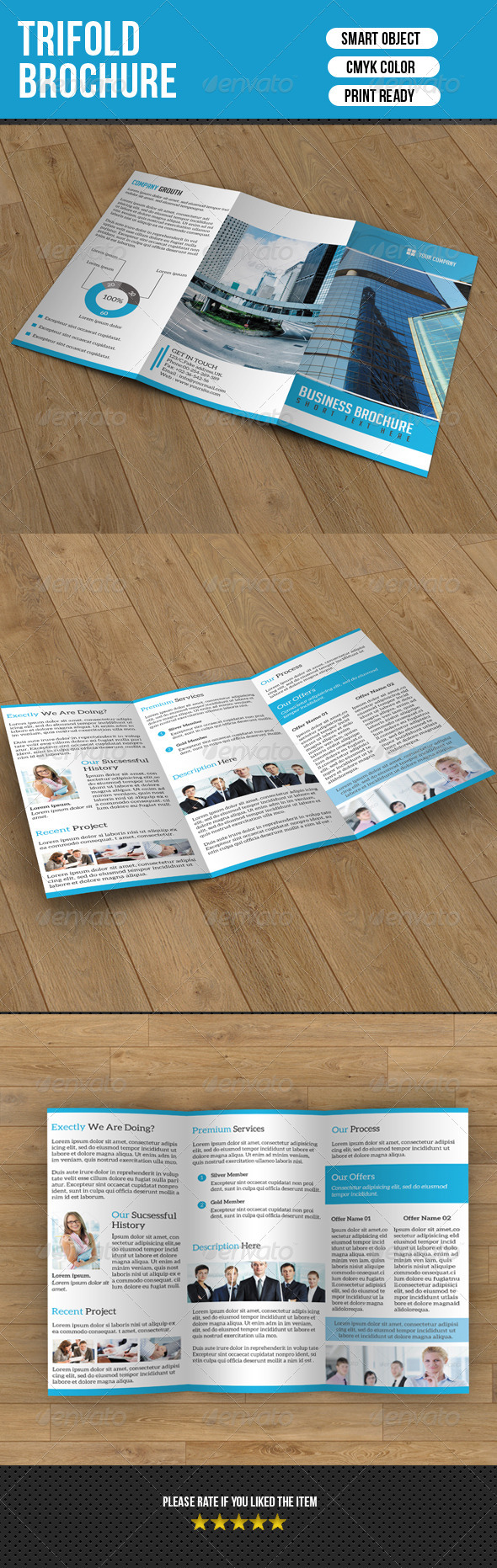 Trifold Brochure for Business - Corporate Brochures