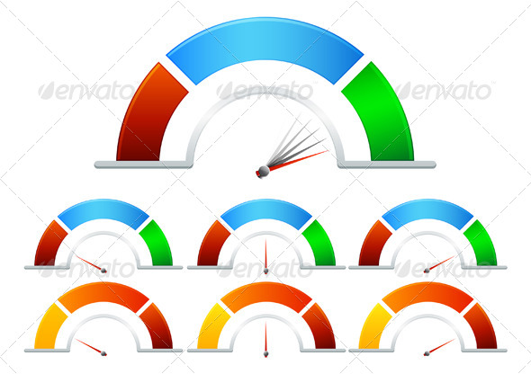 Performance Meter - Illustration - Concepts Business