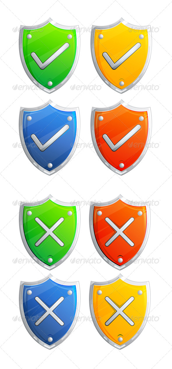 Shield Icon - Illustration - Concepts Business