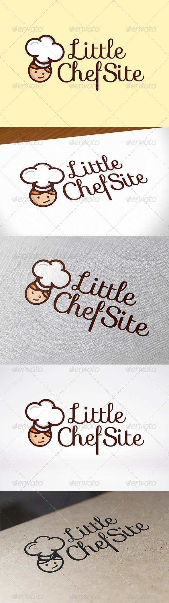 Chef Logo Template - Humans Logo Templates