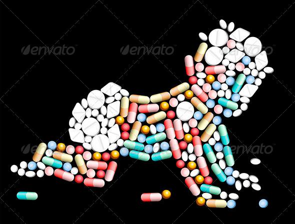 Tablets Pills Baby - Health/Medicine Conceptual