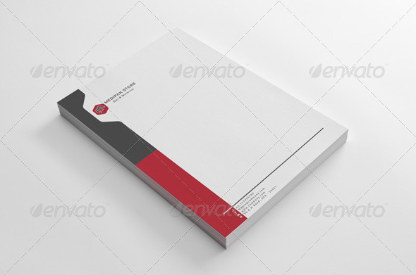 simple medipak letterhead design by shujaktk graphicriver