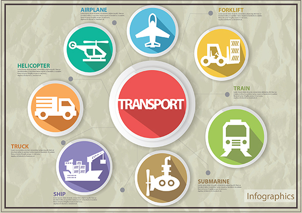 Transport Infographics - Infographics
