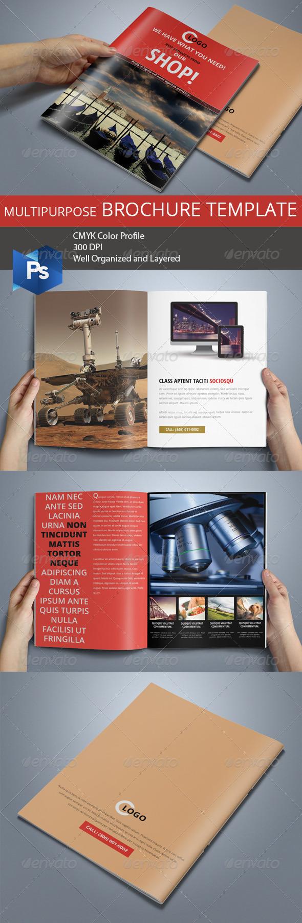Multipurpose Business Brochure 02 - Corporate Brochures